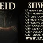 April, 2016 Shine Tour